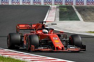 """Vettel: """"No estoy contento con mi vuelta"""""""