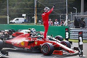 """Leclerc raggiante per la pole: """"Ora vogliamo un'altra vittoria!"""""""