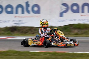 Gabriel Bortoleto busca pódio no Mundial de Kart na Finlândia
