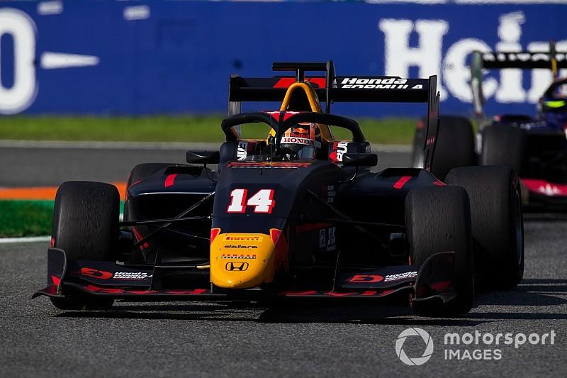 Monza F3: İkinci yarışı Tsunoda kazandı