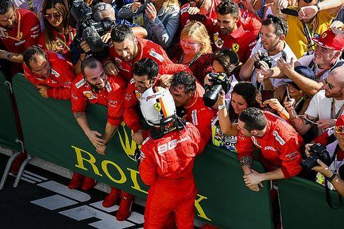Vettel ungkap suasana dalam Ferrari masih positif