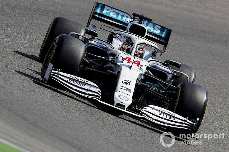 Em treino marcado por drama da Ferrari, Hamilton crava pole na Alemanha