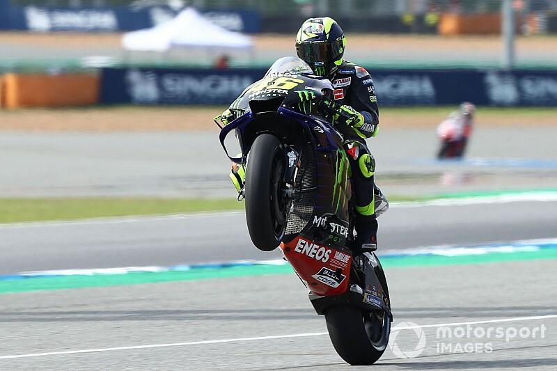 """Rossi: """"Molto veloce con le soft, ma stressiamo la gomma da gara"""""""