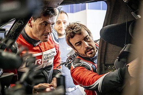 Alonso még egy ötszörös Dakar-győztesnek is más dimenzió