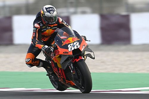 KTM 'hitting a wall' in Qatar MotoGP testing