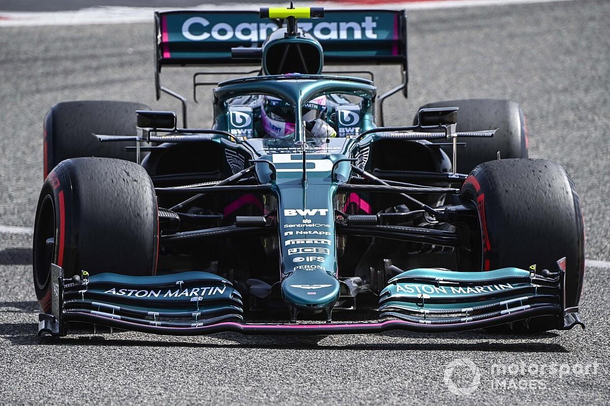 Aston Martin Tweaks Floor For F1 Testing