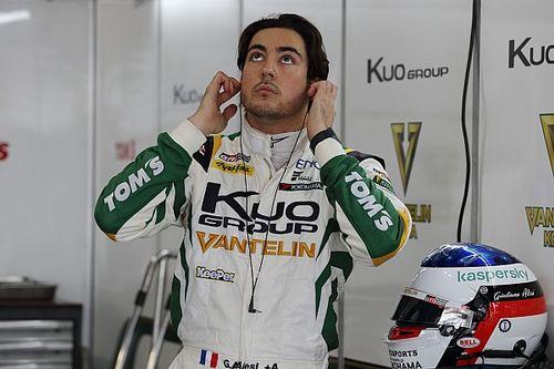 Autopolis Super Formula: Alesi takes shock pole in wet