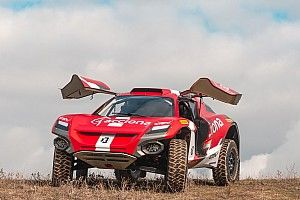 Las fotos del coche de Sainz y Laia Sanz en Extreme E
