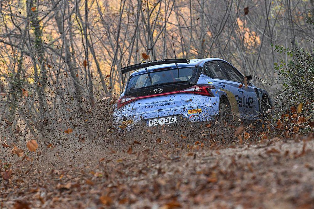 WRC: anche Breen prova la nuova i20 Rally2 nei test di sviluppo