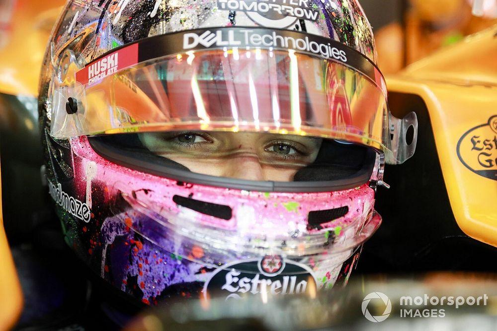 Norris szerint Ricciardo nem lesz sokkal gyorsabb, mint Sainz