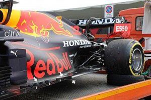 Red Bull: la RB16B detta le linee di sviluppo sul fondo