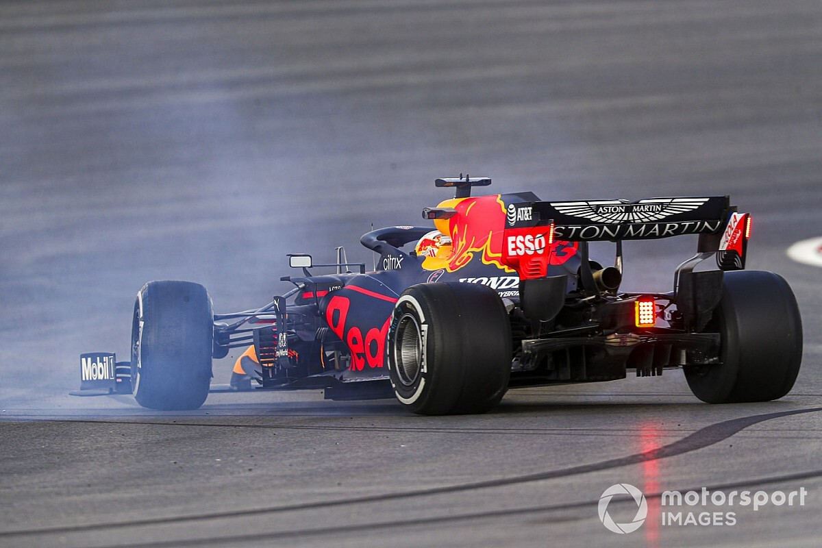 """Verstappen: """"Nous sommes à 5 secondes des temps qu'on devrait faire"""""""
