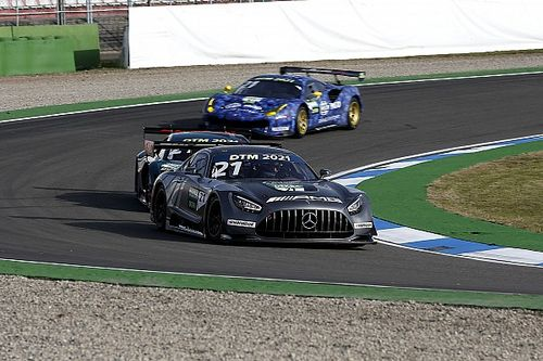Who is driving in the GT3-based DTM this year?