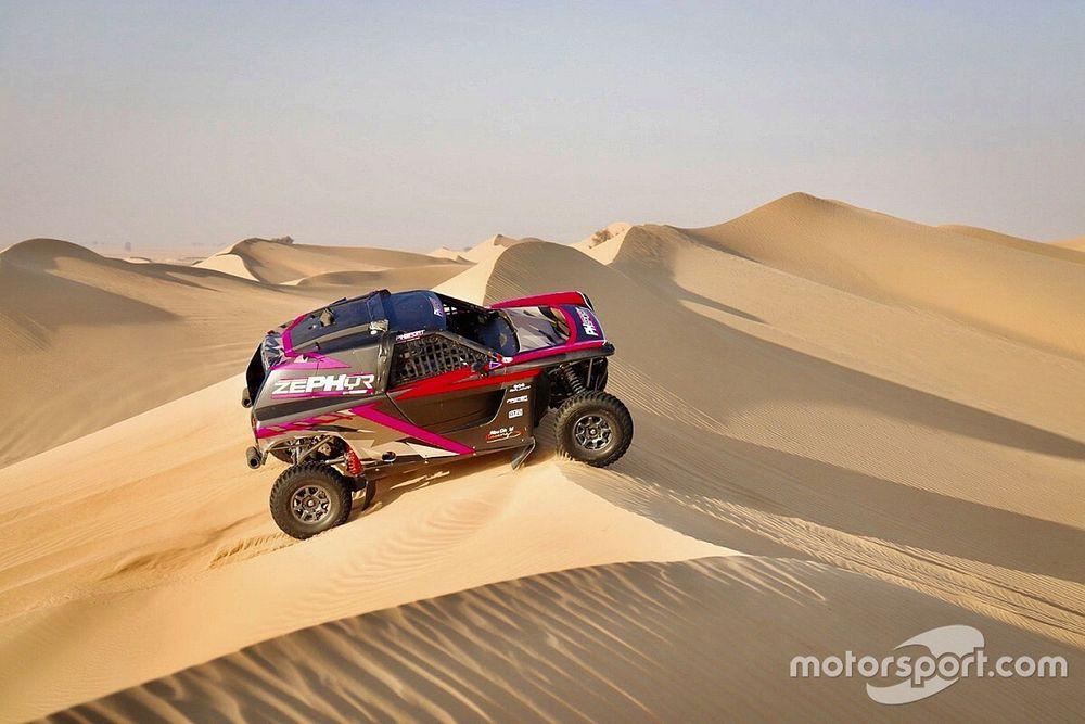 "Meeke ""felt like a kid at Christmas"" in first Dakar test"
