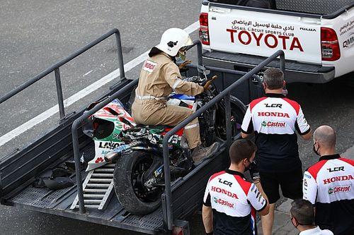 Alex Márquez se lesiona en el test de Qatar