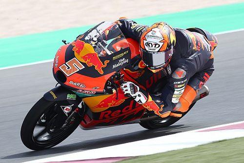 Moto3, Doha, Libere 1: Masia rifila mezzo secondo a Foggia