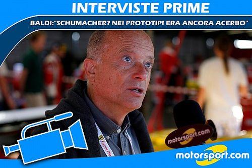 "Baldi: ""Schumacher? Nei prototipi era ancora acerbo"""
