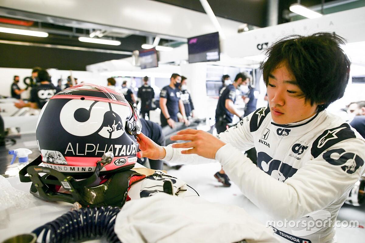 Psycholoog en bandenmanagement: Tsunoda klaargestoomd voor F1