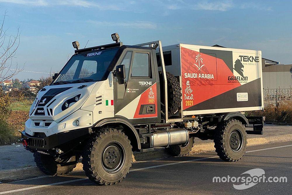 Dakar 2021: Simonato e Berro con il camion Tekne