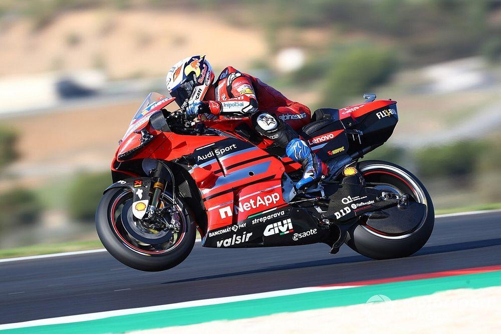 """Dovizioso, Ducati ile katıldığı son MotoGP sıralama turlarının ardından """"kızgın"""""""