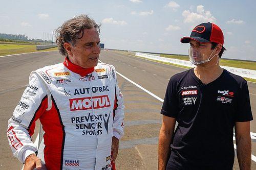 """VÍDEO: Em quadro de humor, SporTV 'diminui' Nelson Piquet, chama Nelsinho de """"ex-piloto"""" e ironiza F1 na Band"""