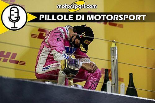 Podcast: Perez, GP di Sakhir. Quando una vittoria cambia la vita