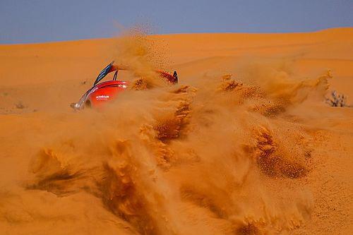 La odisea que vivió Loeb en la noche del Dakar