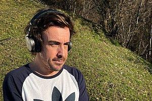 Alonso, kazanın ardından ilk fotoğrafını yayınladı