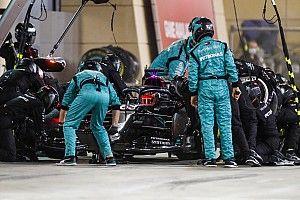 Mercedes Didenda karena Salah Pasang Ban