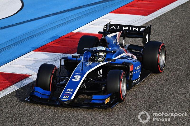 فورمولا 2: زهو يشق طريقه نحو الفوز بالسباق الرئيسي في البحرين