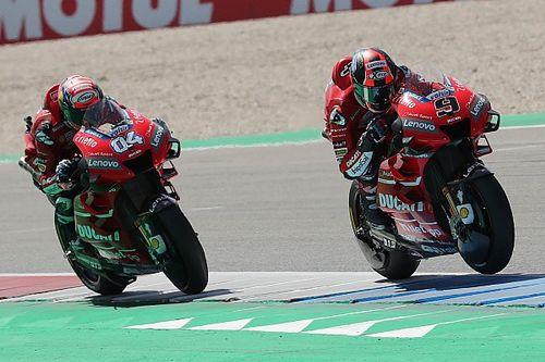 Petrucci quiere definir con Ducati su papel dentro del equipo
