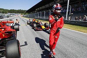 Brillante pole de Leclerc y K.O de Vettel en Austria
