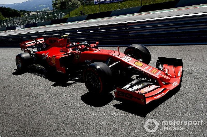 Leclerc in pole in Austria, Vettel salta la Q3, Hamilton secondo ma è investigato