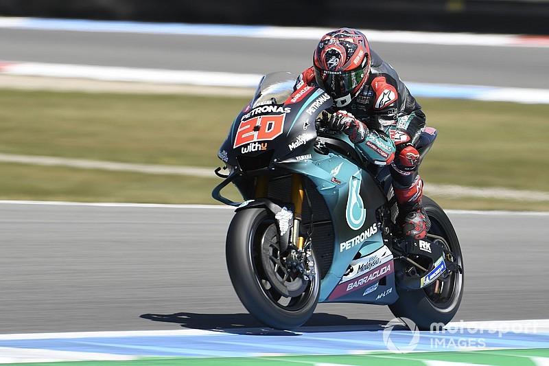 MotoGP, Sachsenring, Libere 1: Quartararo beffa Marquez, terzo c'è Rossi