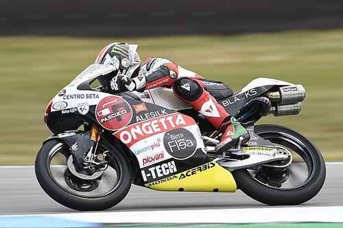 Moto3 Assen: Antonelli troeft Toba af voor pole