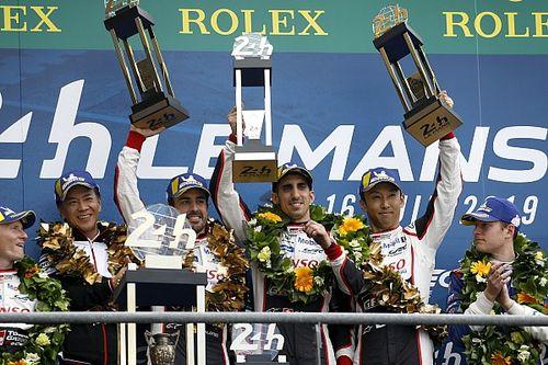 ル・マン24時間:トヨタ8号車が連覇でWEC王者に。7号車はラスト1時間に泣く