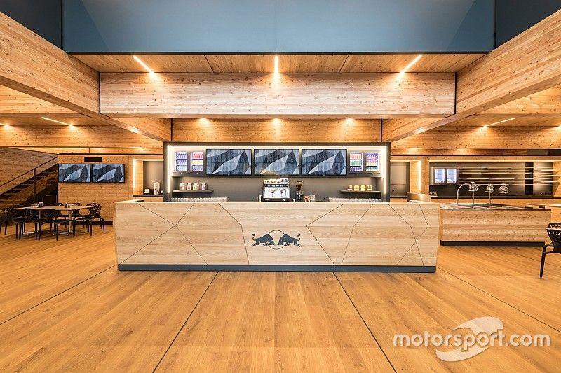 Red Bull estrena un nuevo motorhome sostenible en el GP de España