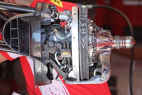 Ferrari: il disco anteriore è stato scavato per migliorare l'avantreno della SF90
