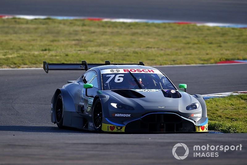 Aston Martin получила разрешение тестировать машину DTM по ходу сезона