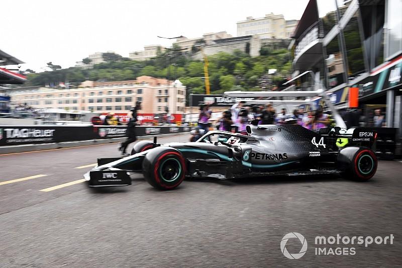 هاميلتون يتقدّم بـ 0.059 ثانية على فيرشتابن في التجارب الأولى في موناكو