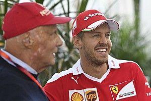 """Vettel: """"Lauda, Nürburgring'den çok keyif alırdı"""""""