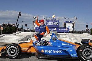 IndyCar Detroit: Dixon wint race 2, eerste podium voor Ericsson