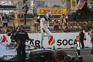 Bottas nyert Bakuban, ismét megállíthatatlan volt a Mercedes!