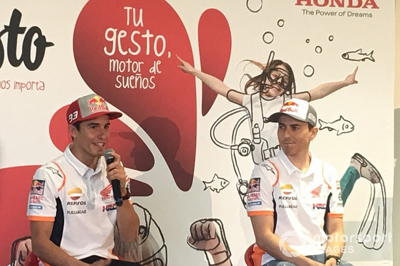 "Márquez: ""Cuando llegué a Honda me adapté a las medidas de Stoner"""