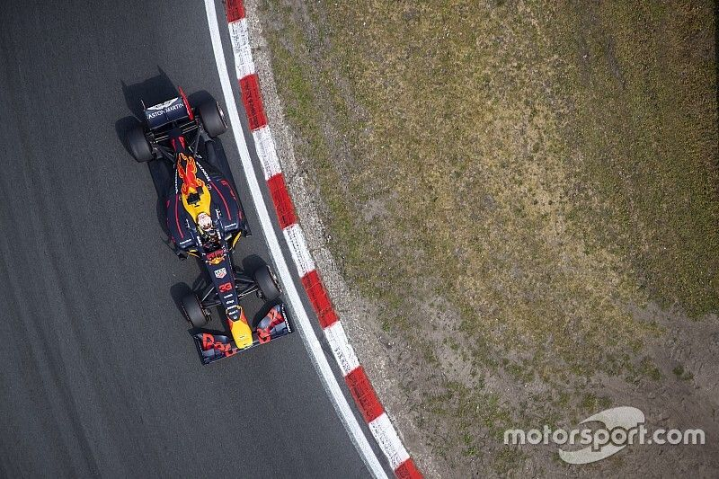 Pirelli can only raise tyre pressures for Zandvoort banking