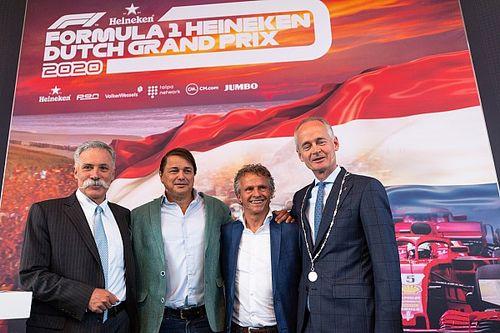 Officieel: Formule 1 keert in 2020 terug naar Nederland