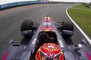 VIDEO: Verstappen ya rodó en Zandvoort, circuito del GP de Holanda