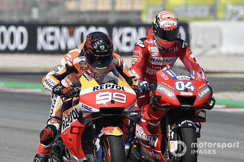 Las cicatrices del coqueteo entre Lorenzo y Ducati