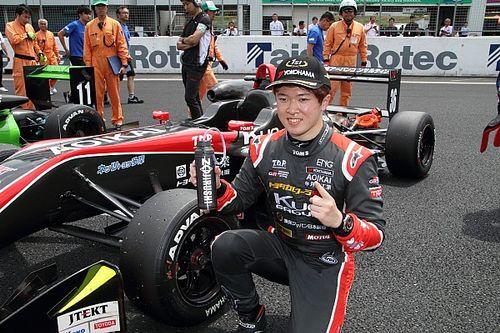抜群のスタートで見事逆転、宮田莉朋「1コーナーまでが勝負だと思った」