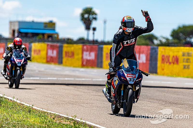 National Motorcycle: TVS riders dominate Sunday races